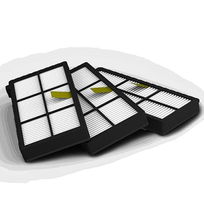 Набор из 3-ех HEPA фильтров для Roomba 800 и 900 серий